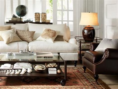 Living Room Ideas Leather And Fabric White With Brown Wood Other Ohh And A Big Brown