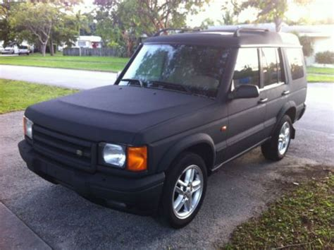 custom land rover discovery find used custom spectra coated land rover discovery ii se