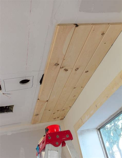 Diy Tongue And Groove Ceiling by 1000 Ideas About Tongue And Groove On Pvc
