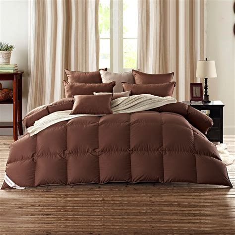 the best down comforter colored goose down comforter not just white and black