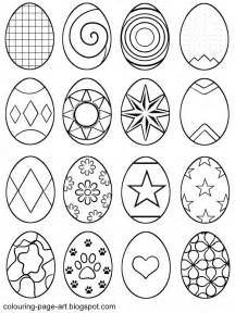 coloring pages of small easter eggs colouring page symbol abstract easter eggs