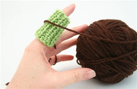 finger protector for knitting pdf digital pattern knit finger guard patternknitting crochet