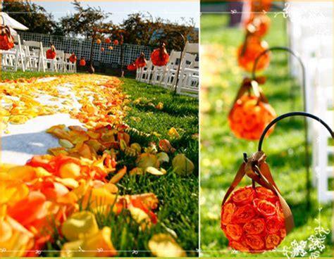 orange yellow and green wedding flower artistry
