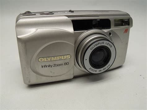 olympus point and shoot olympus infinity zoom 80 qd 35mm 38 80mm point and shoot