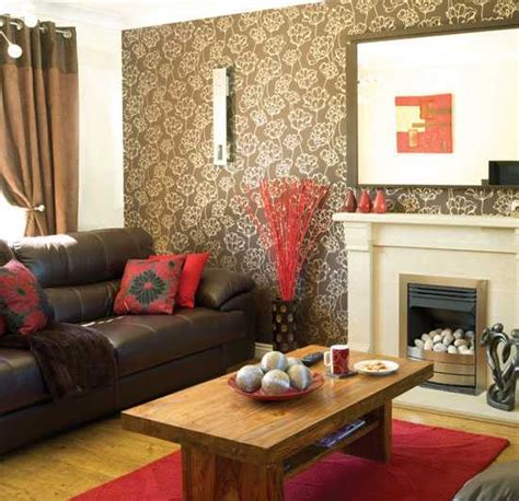 brown wallpaper for living room chocolate brown interior colors and comfortable interior decorating ideas