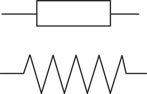 una forma de resistencia 8466335862 aprendamos electr 211 nica facil las resistencias resistencias fijas