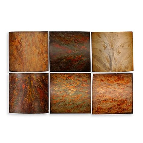 bed bath beyond wall decor klum wall art collage set of 6 bed bath beyond