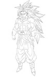 broly ssj3 by gothax on deviantart