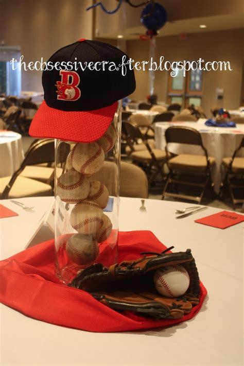 baseball centerpiece baseball pinterest