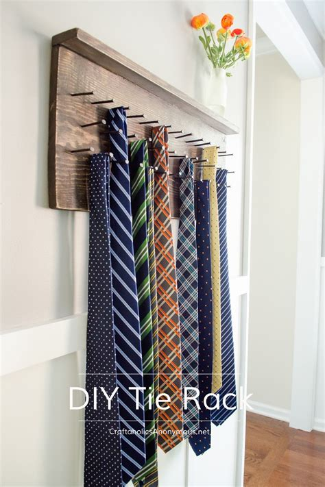 Diy Rack by Craftaholics Anonymous 174 Diy Tie Rack Tutorial