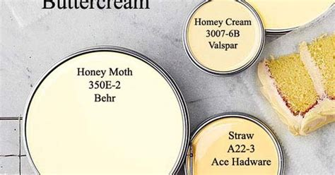 buttercream yellow paint colors via bhg color my color inpiration