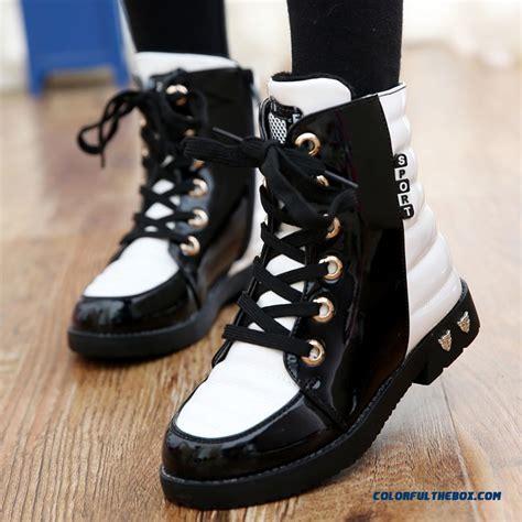 korean shoes for cheap winter cotton boots plus velvet martin boots