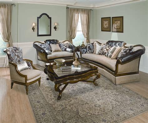 wood trim sofa set benetti s italia salvatore wood trim sofa set usa warehouse furniture