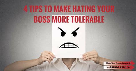 hate  boss