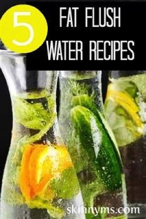 Infused Water Detox Plan by Flush Cleanse Detox Water Recipe Detox Waters
