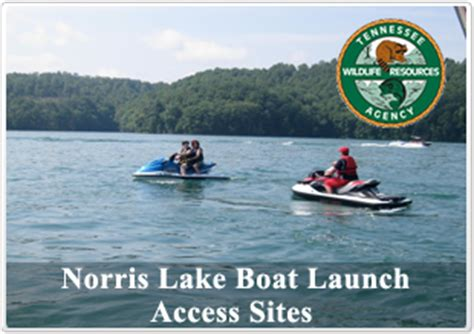 public boat launch norris lake norris lake tennessee information lake norris tn