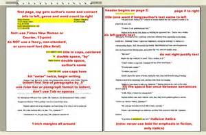 book manuscript format template huh show me