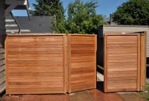 Types Of Garden Fencing Ideas - modern fence gate modern landscape portland by