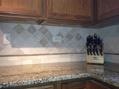 natural stone kitchen backsplash natural stone backsplash kitchen pinterest
