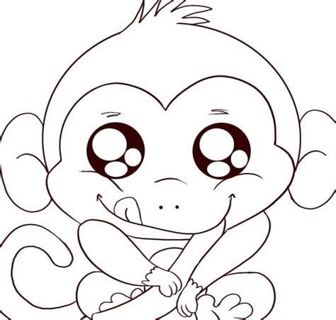 coloring pages of baby monkeys animal monkey and baby monkey coloring pages kids