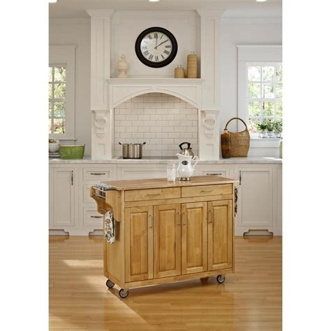 home styles create a cart natural kitchen cart with quartz home styles create a cart natural kitchen cart 9200 1011
