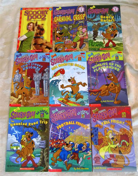 scooby doo picture clue books lot of 21 scooby doo books picture clue readers