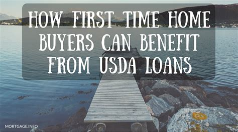 Usda Time Home Buyer Grants by How Time Homebuyers Can Benefit From Usda Loans