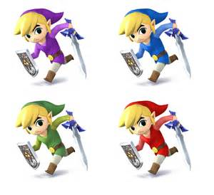 link color link colors ssb4 by simplederk on deviantart