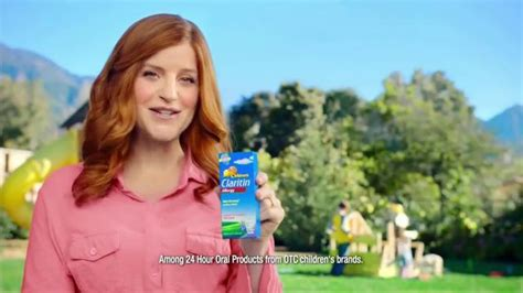 claritin commercial actress children s claritin tv spot playground ispot tv