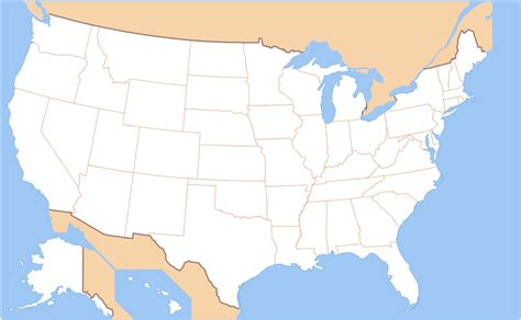 map of the usa with state names file map of usa without state names svg wikimedia commons