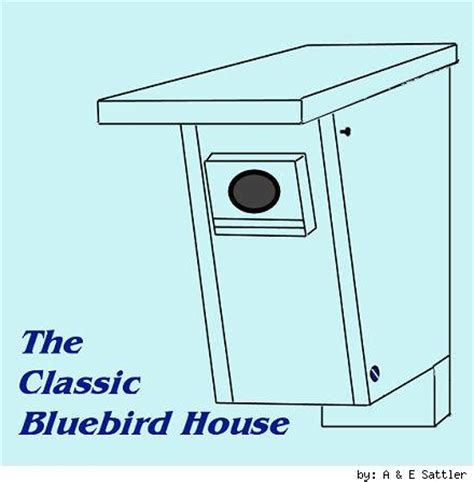bluebird house design peterson bluebird house plans image mag