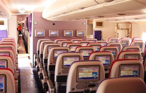 Thai Cabin the at airbus with the thai airways a380