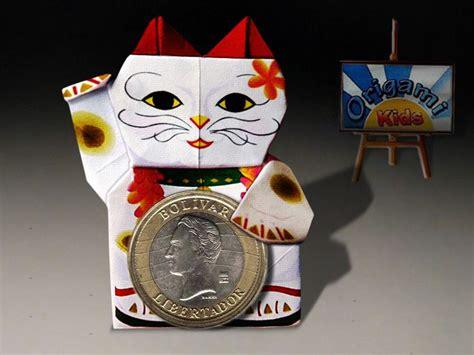 Maneki Neko Origami - origami maneki neko by jodi fukumoto designer jodi