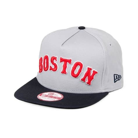 new era turnover 2 snapback boston sox team colors 29 00 cappellini snapback