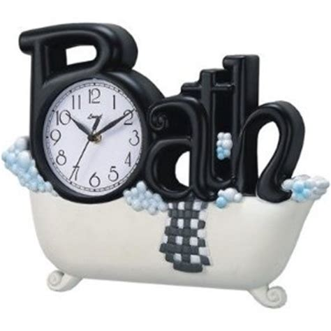 bathtub clock 1000 images about bathroom clocks on pinterest bathroom