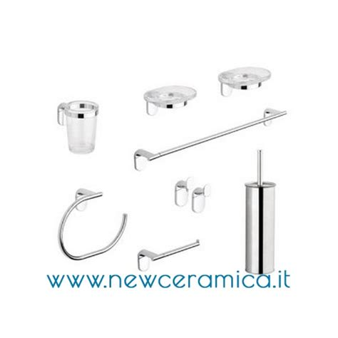 metaform accessori bagno set accessori bagno completo serie zero metaform