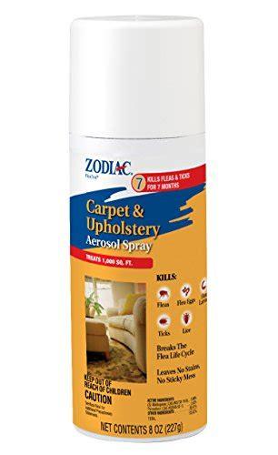 flea upholstery spray zodiac carpet upholstery aerosol spray 8 ounce animals