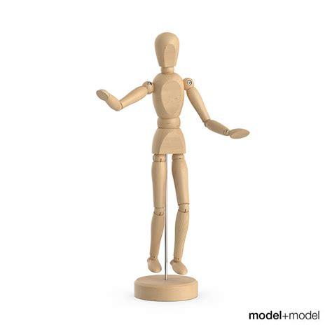 figure 3d model wooden figure 3d model max obj fbx cgtrader