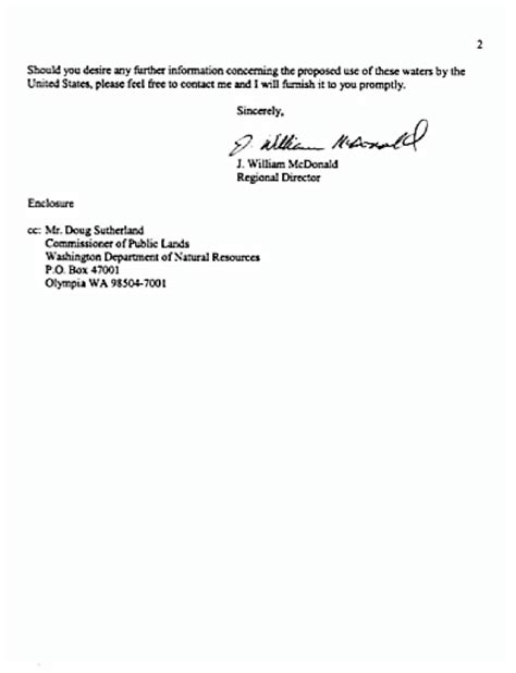 Court Withdrawal Letter Format Withdrawal Letter From The U S Bureau Of Reclamation To
