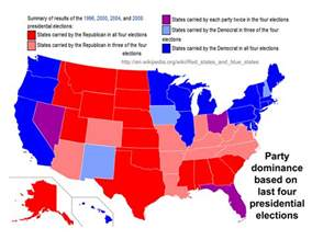 states by political affiliation map quotes