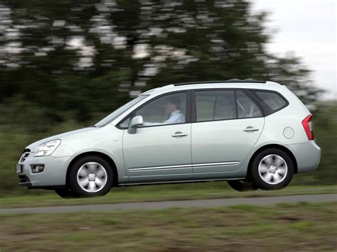 Kia Carens Fuel Consumption Kia Carens Technical Specifications And Fuel Economy