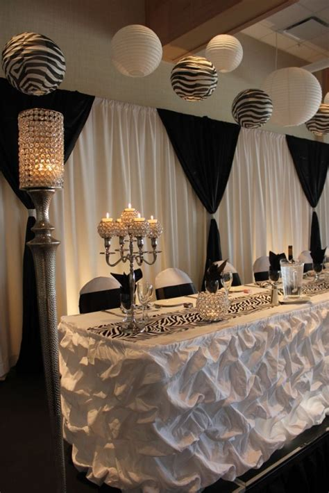 47 awesome ideas for a black and white wedding wedding