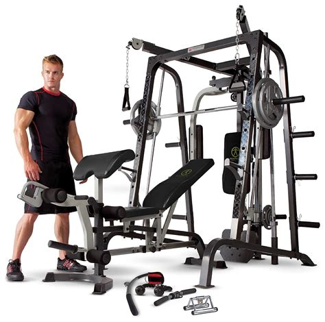 marcy md9010g deluxe smith machine home multi review