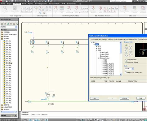 schematic drawing in autocad electrical discussion