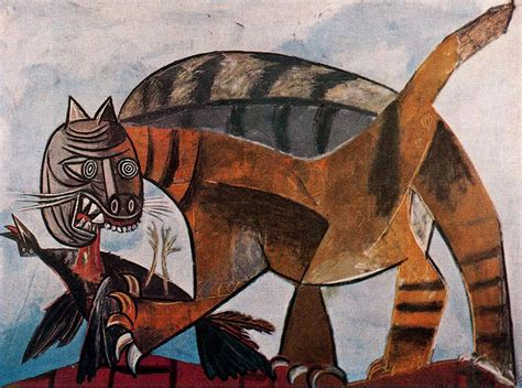 picasso paintings facts cats in pablo picasso bird and cat