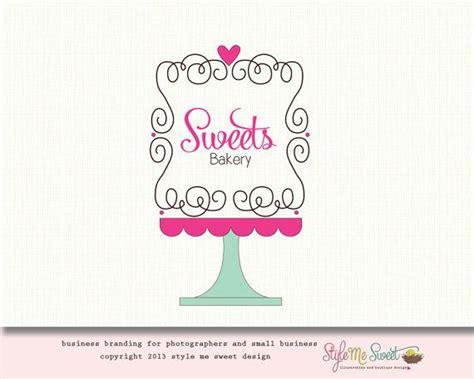 bakery logo design cake logo design premade logo ooak