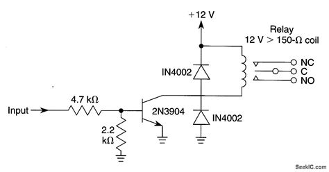 pnp transistor relay driver pnp transistor relay driver 28 images pnp switching input schematic get free image about