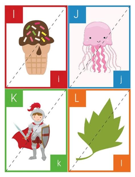 printable alphabet puzzle cards 43 printable crafts for school and worksheets for kids