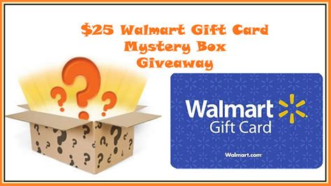 Walmart Amazon Gift Card - 25 walmart or amazon gift card mystery box giveaway bb product reviews