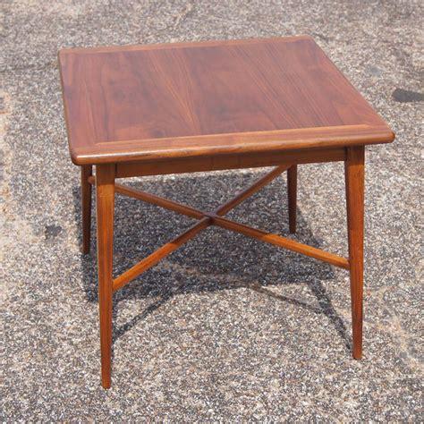 vintage mid century end table 24 quot vintage mid century modern walnut side end table ebay